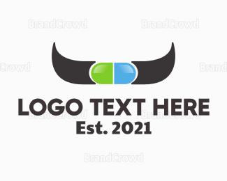 Pharmaceutic - Cow Medicine logo design