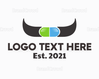 Cattle - Cow Medicine logo design