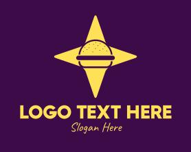 Burger - Star Burger logo design