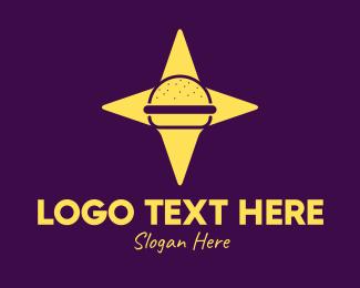 Burger - North Star Burger logo design