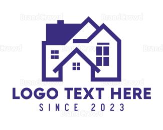 Interior Designer - Big Blue House logo design