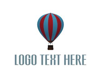 Hot Air Balloon - Balloon Ride logo design