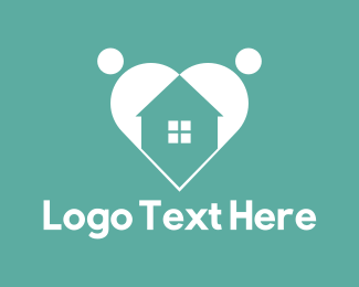 Support - Family Home logo design