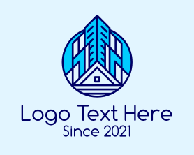 Real Estate Residential Property Logo