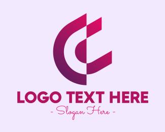 Business Solutions - Corporate Purple Symbol logo design