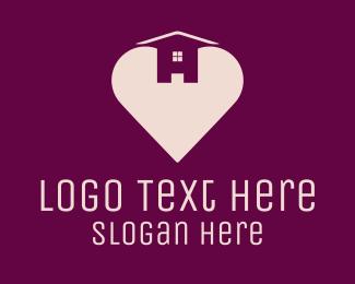 Cardiology - Love Heart House logo design