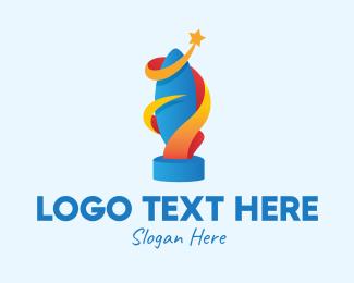 Sports - Sports Star Trophy logo design