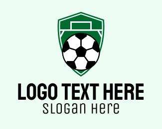 """Soccer Ball Field Emblem "" by FishDesigns61025"