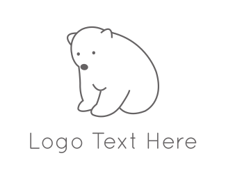 Bold - Polar Bear  logo design