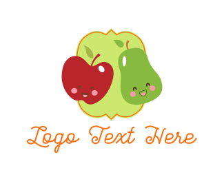 Apple - Apple & Pear logo design