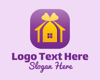 Present - Home Decor Application logo design