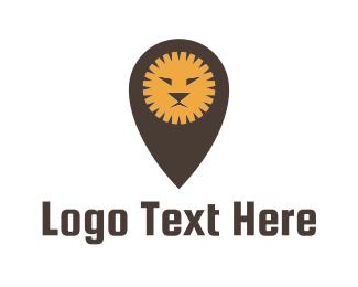 Point - Lion Spot logo design
