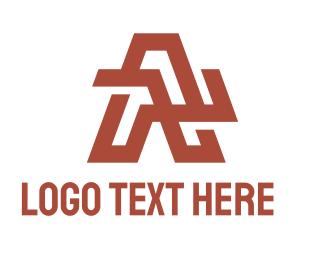 Steel Fabrication - Geometric Tech A logo design