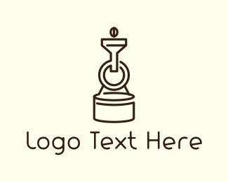 Minimalist - Coffee Roaster logo design