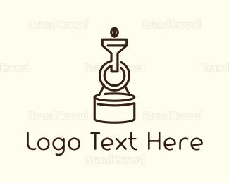 Barista - Coffee Roaster logo design