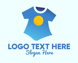 Shirt - Sun Shirt Laundry  logo design