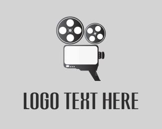 Cinema - Video Reel logo design