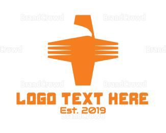 Aid - Eagle Cross logo design