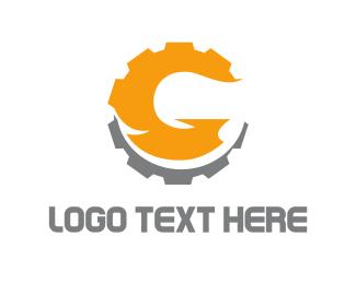 Cogwheel - Global Gear logo design