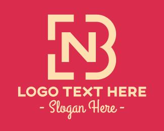 Letter - Simple N & B logo design