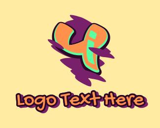 Arts - Graffiti Art Letter Y logo design