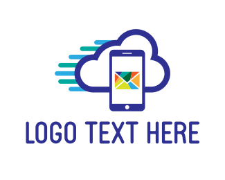 Email - Mail Cloud logo design