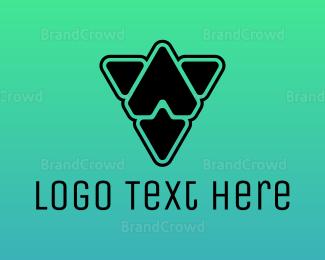 Computer - Black Prism logo design