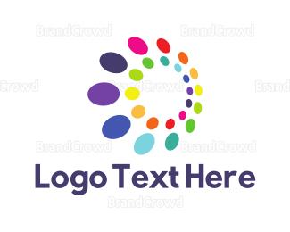 Rainbow - Rainbow Dots logo design