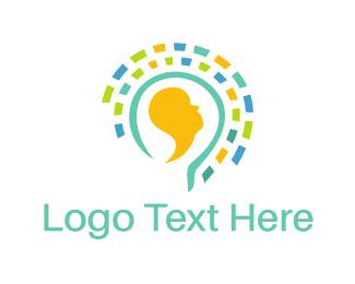 Hypnotherapy - Bright Mind logo design