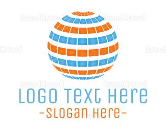 Language - Photovoltaic Sphere logo design