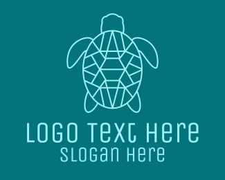 Sea Turtle - Turtle Gem logo design