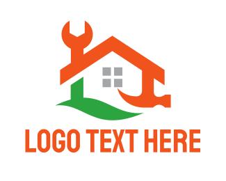 Carpentry - Toolbox House logo design