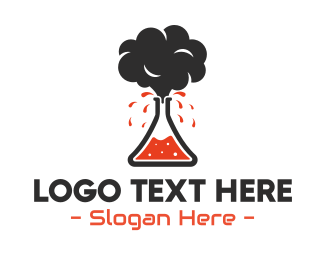 Logo Design - Volcano Lab
