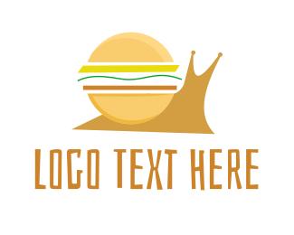 """Snail Burger"" by eightyLOGOS"