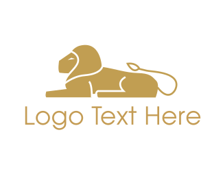 Golden - Golden Lion logo design