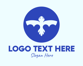 Bat - Abstract Bat Shape logo design