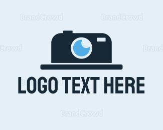 Hat - Hat Camera logo design