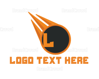 Meteor - Black Meteor logo design