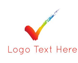 Rainbow Mark  Logo