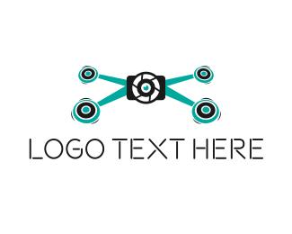 Drone - Drone Lens logo design