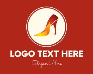 Heel - Hot Heels Store logo design