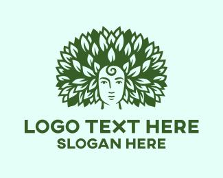 Hair Salon - Eco Face logo design
