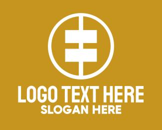 Coin - Gold Coin Finance logo design