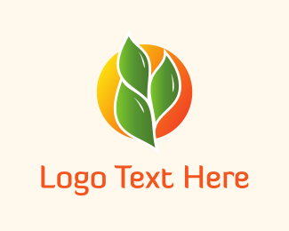 Wheat - Green Wheat logo design