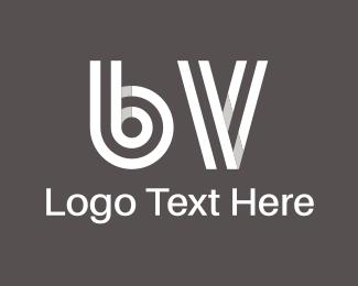Acronym - B & V logo design