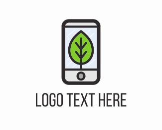 Mobile - Eco Phone logo design