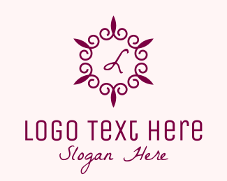 Wedding - Fancy Wedding Lettermark  logo design
