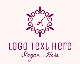 Wedding - Fancy Wedding Lettermark  logo design