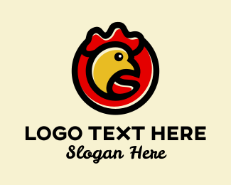 Fowl - Chicken Restaurant  logo design