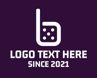 Dice - Dice Letter B logo design